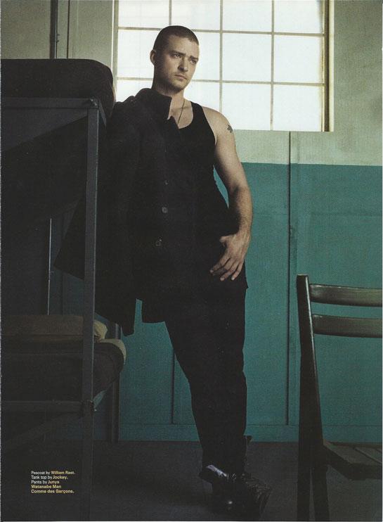 Justin Timberlake 3 Piece Suit Gq
